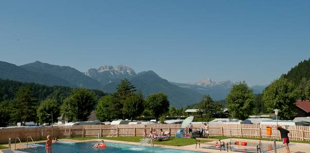 Campingplätze mit Wellnessoasen, Camping Schluga
