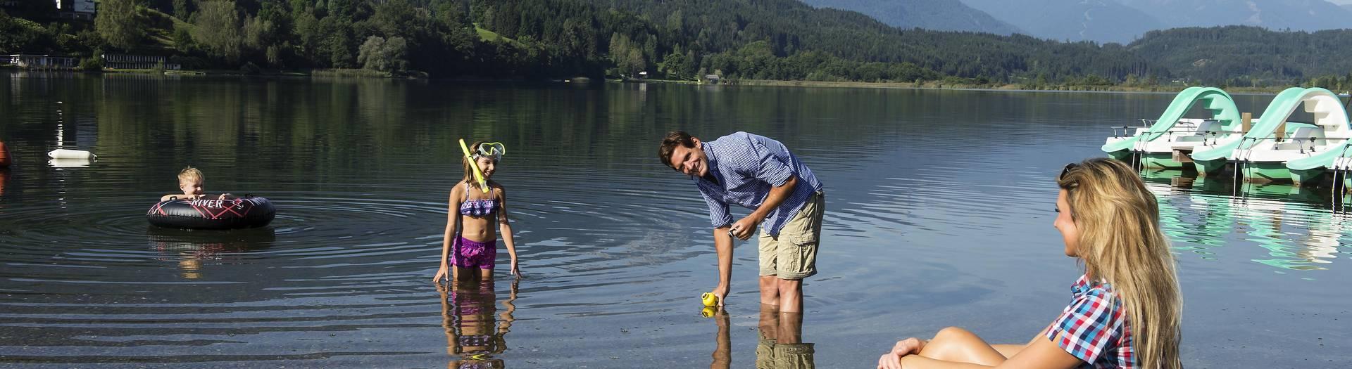Fischen am Pressegger See