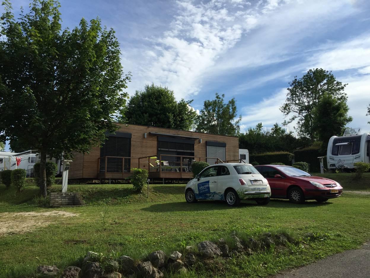 Campingplatz Breznik, Mobile Home im Camping Brenzik, Campingurlaub Ute Zaworka