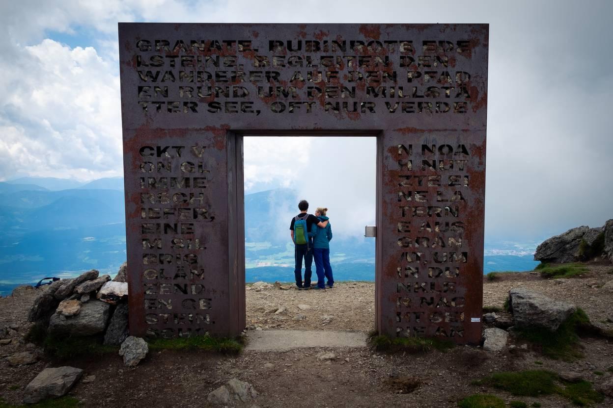 <p>Urlaub zu zweit am Millstätter See, Biwak am Campingplatz; Sabrina Schütt, Granattor</p>