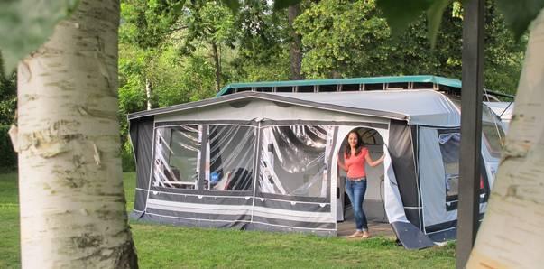 Campingurlaub Ute Zaworka, Camping Mössler