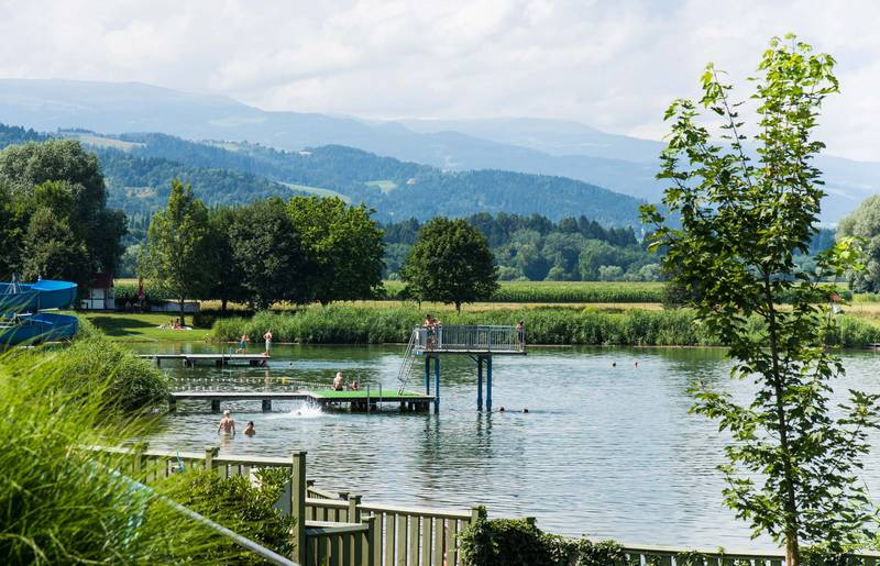 Lavanttal im Sommer, St. Andräer See