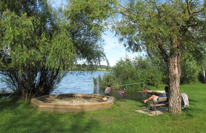 Campingurlaub Ute Zaworka, Der Turnersee ist Natura 2000 Schutzgebiet