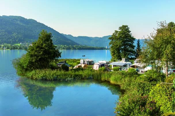 Camping in Kärnten, Seecamping Hoffmann