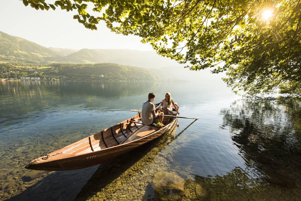 Millstätter See, Buchtenwandern