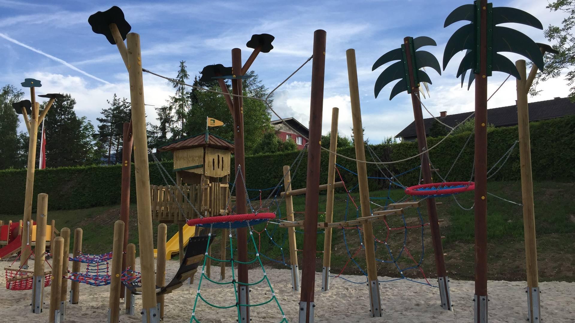 Spielplatz am Camping Breznik