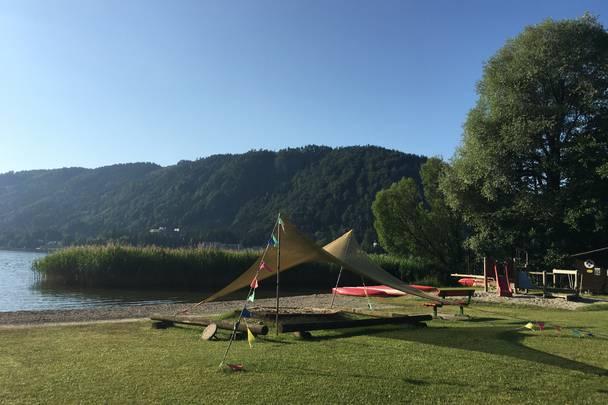 Urlaub im Wohnmobil von Ute Zaworka, Camping Bad Ossiacher See