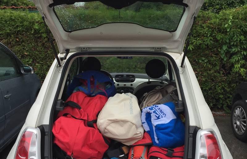 Campingurlaub Ute Zaworka, unterwegs mit dem Kärnten Fiat