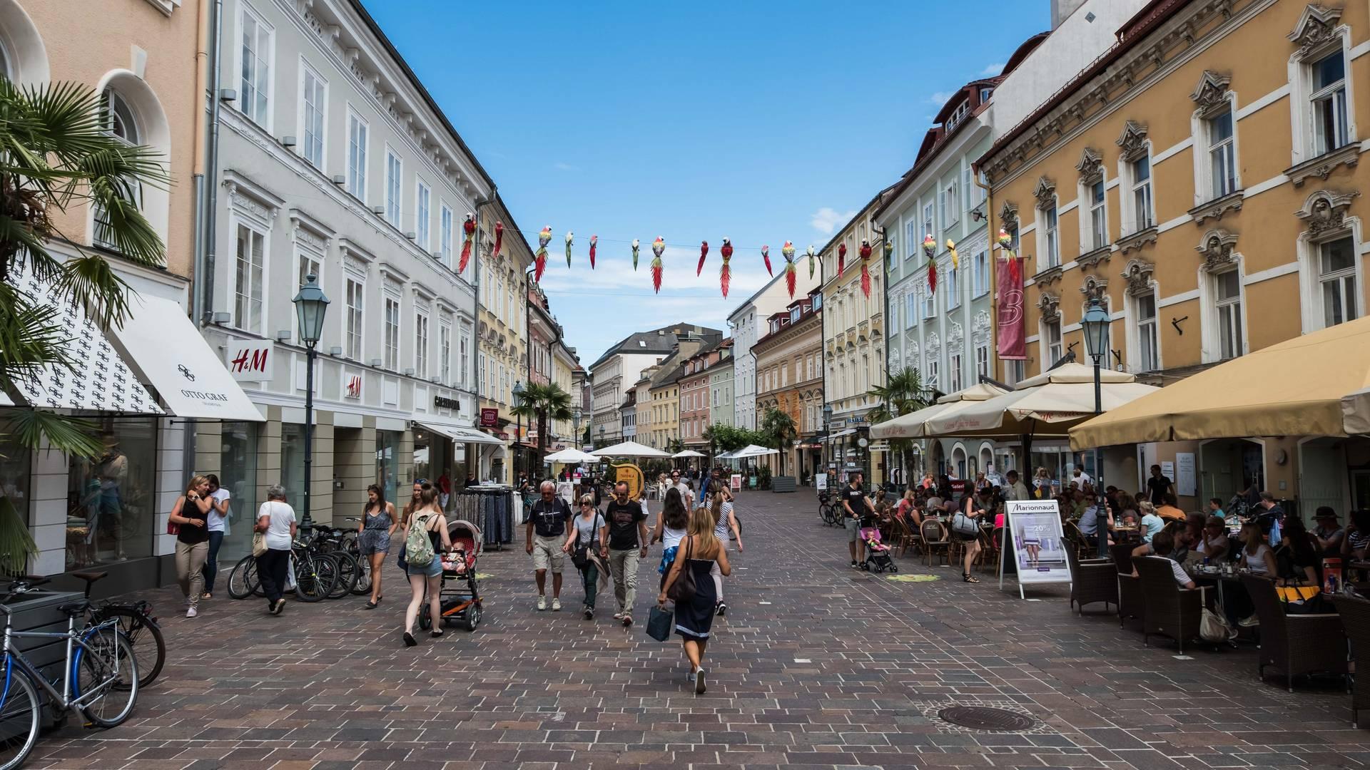 Kultur in Klagenfurt, Klagenfurt Innenstadt