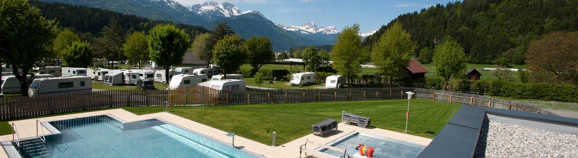 Camping, Mobile Homes, Camping Schluga Alpin Spa