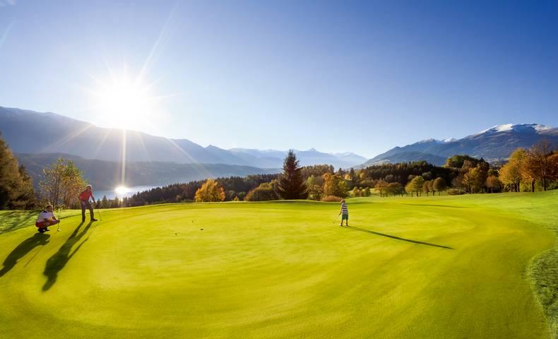 <p>Golf in Kärnten, Golfland, Golfland Kärnten, Golfclub Millstätter See</p>
