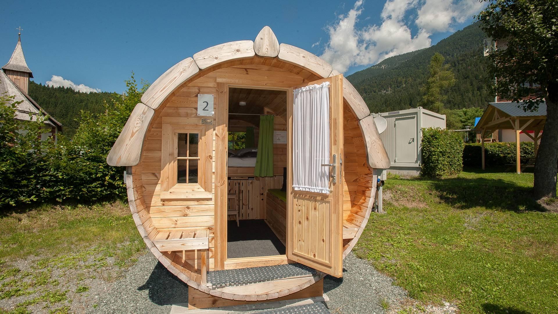 Ungewoehnliche Unterkuenfte in Kärnten, Camping Schluga