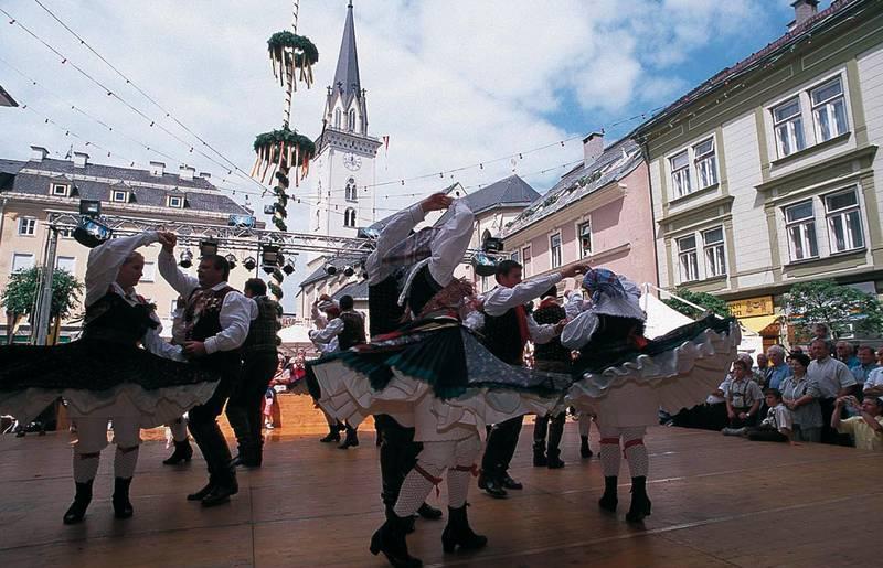 Villacher Kirchtag, Tanzgruppe