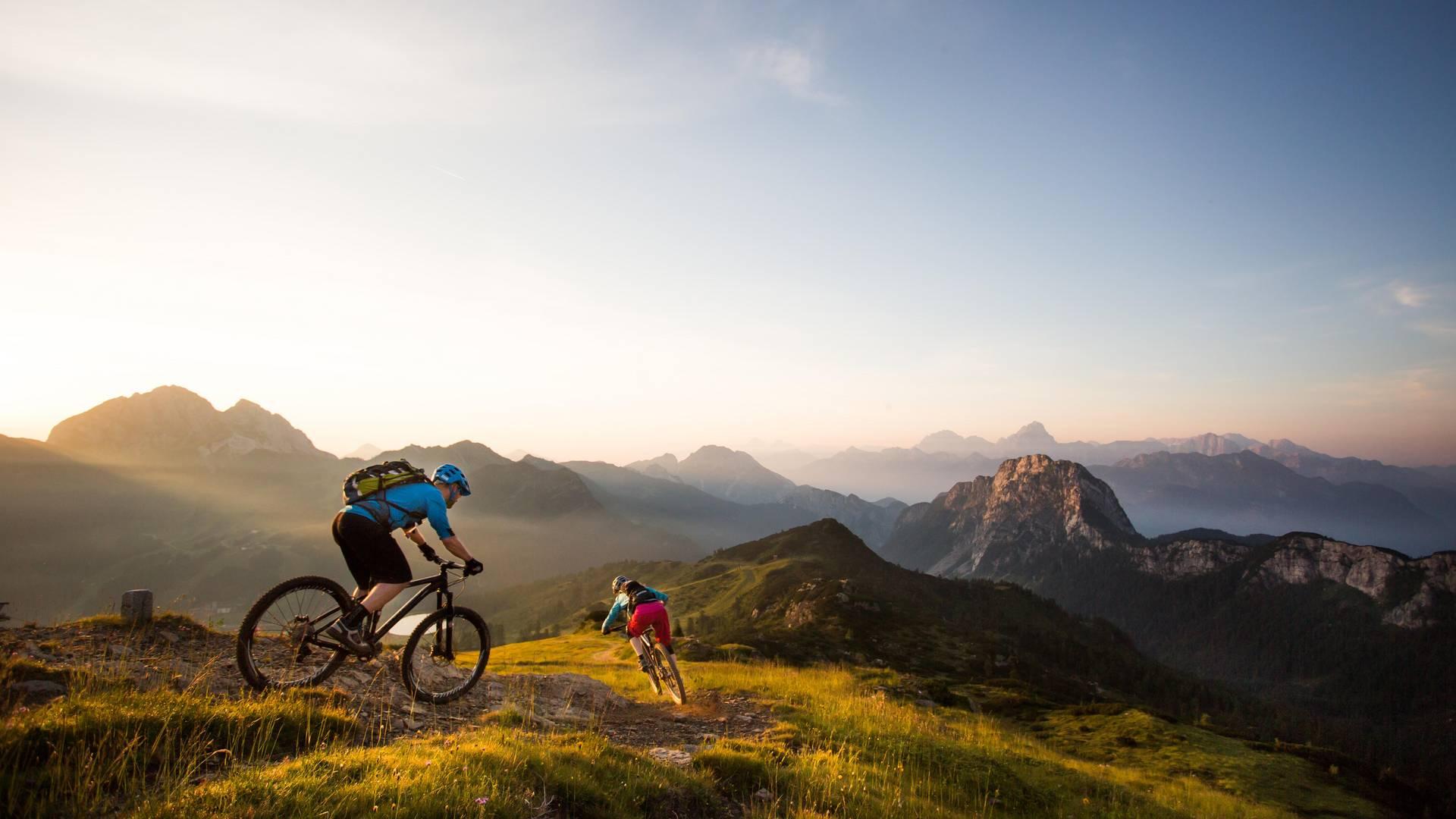 Mountainbiken am Nassfeld