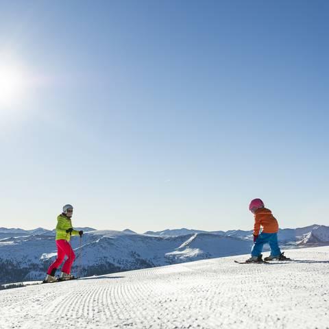 Skifahren macht Spass am Katschberg