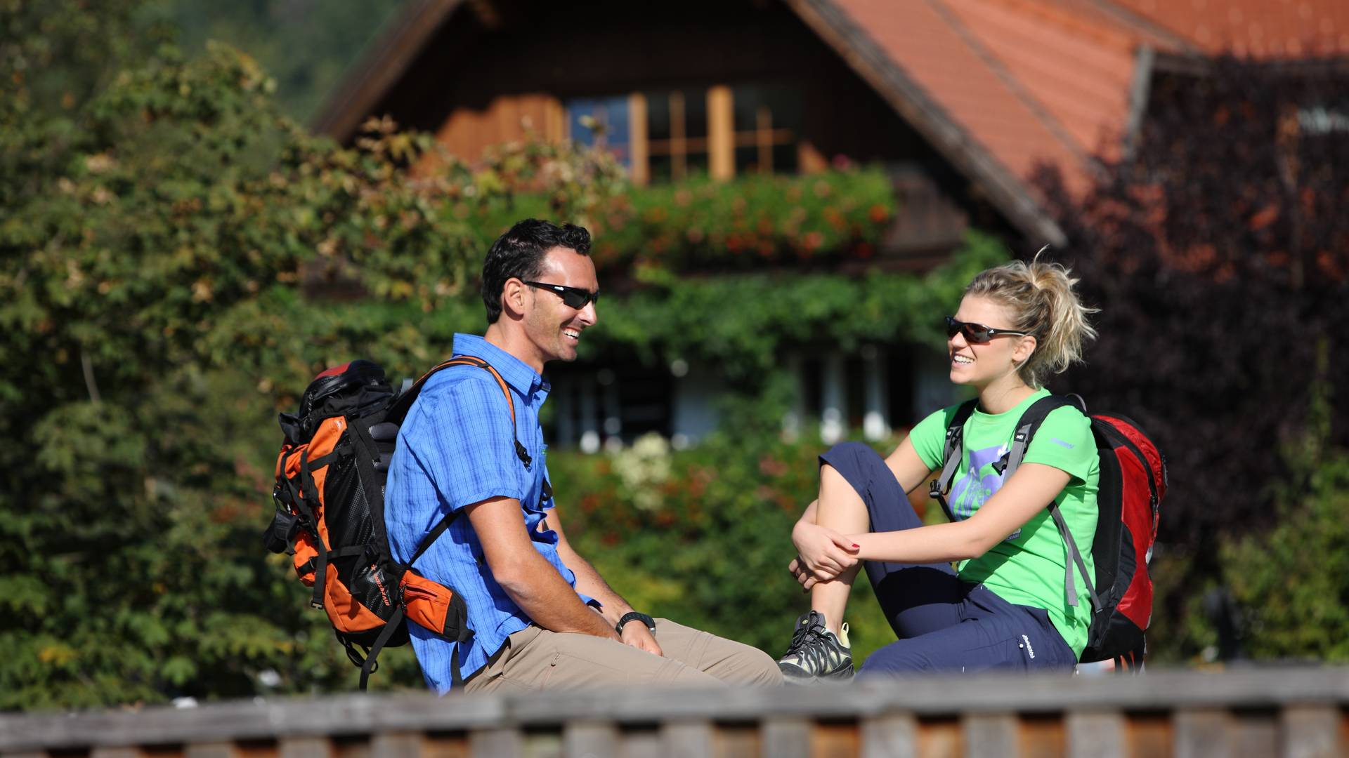 Slow Trails beim Ossiacher See