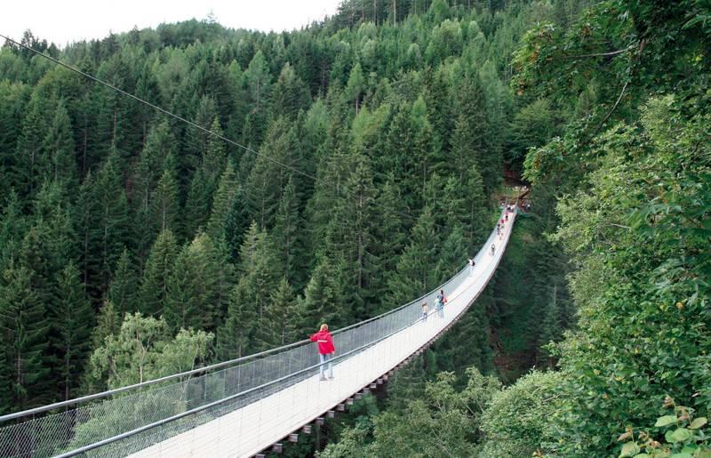 Hängebrücke, Ausflugsziel in Kärnten