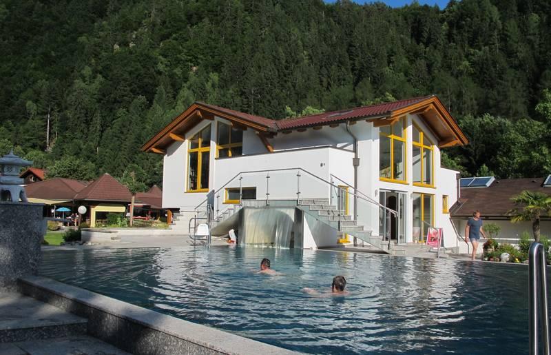 Campingurlaub Ute Zaworka, Camping Mössler, Schwimmbad Camping Mössler