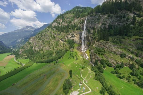 <p>Fallbach Wasserfall im Maltatal</p>