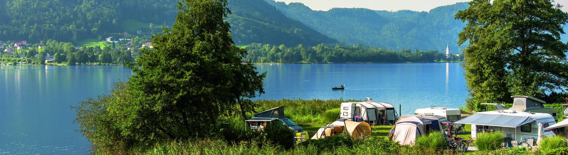 <p>Camping in Kärnten, Seecamping Hoffmann</p>