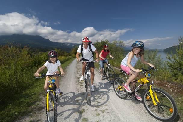 Radfahren in der Region Rosental
