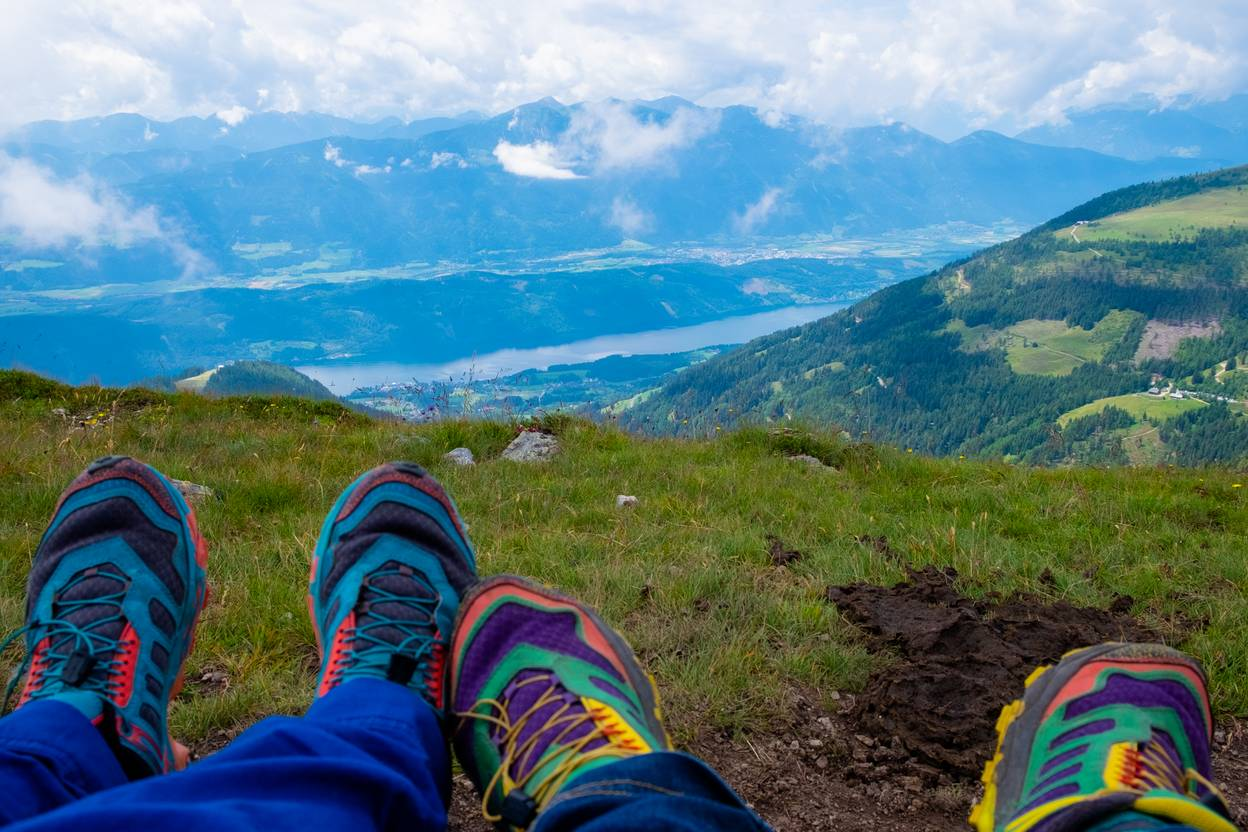 <p>Urlaub zu zweit am Millstätter See, Biwak am Campingplatz; Sabrina Schütt, Weg der Liebe</p>