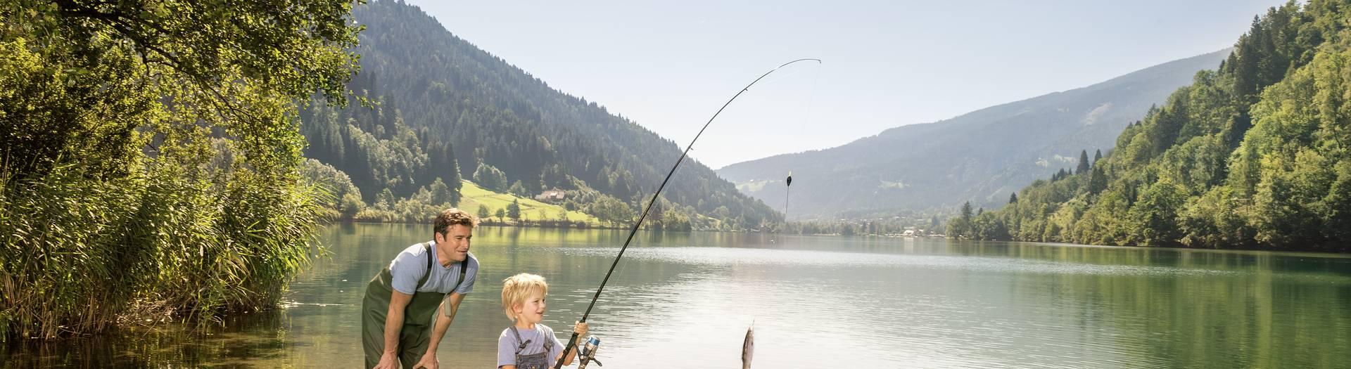 Afritz Fischen am Afritzer See