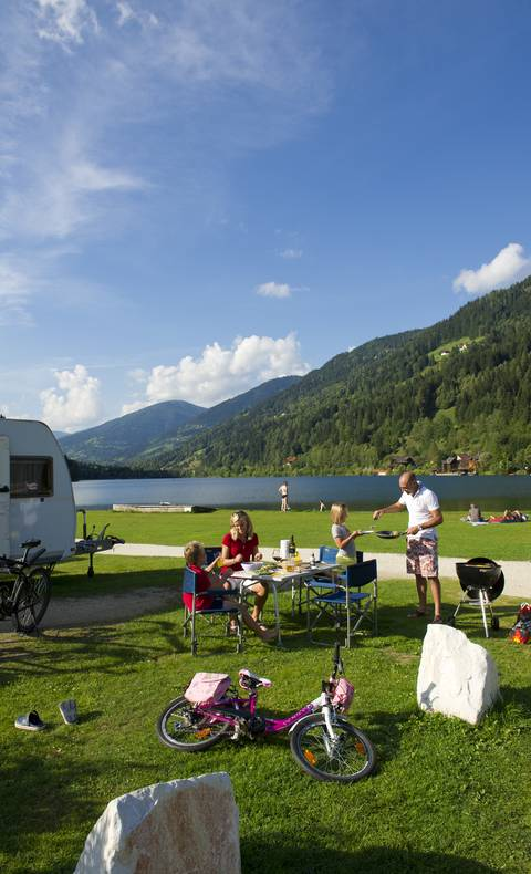 Camping am Afritzersee