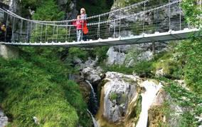 Hängebrücke - Ausflugsziel in Kärnten
