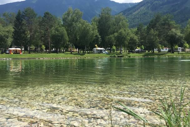 <p>Urlaub im Wohnmobil von Ute Zaworka, Camping Rosental Rož</p>