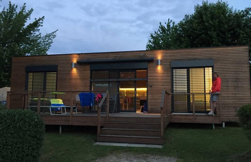 <p>Campingplatz Breznik, Mobile Home im Camping Brenzik, Campingurlaub Ute Zaworka</p>