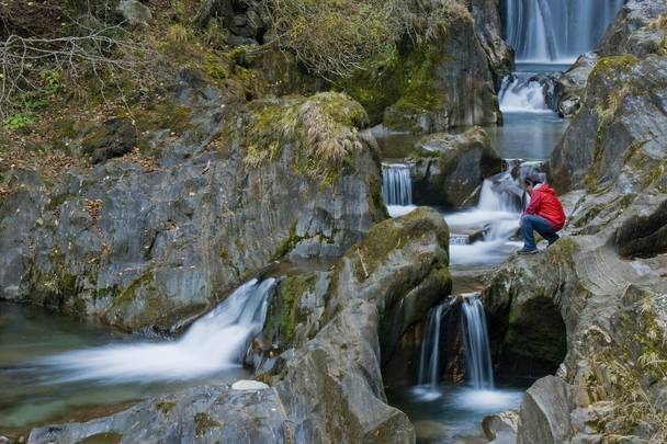 Obervellach mit der Groppensteinschlucht in der Nationalpark-Region Hohe Tauern
