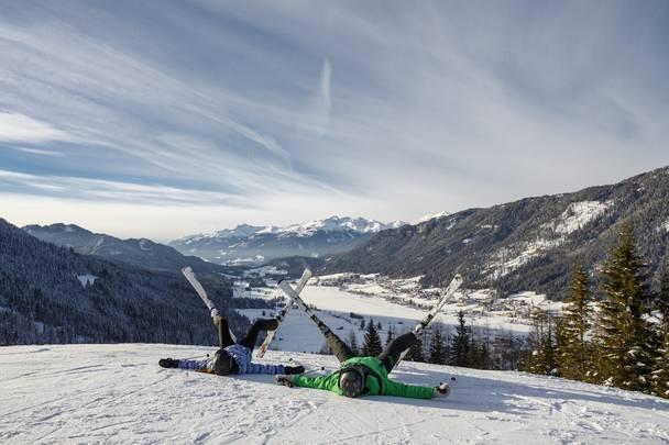 Region Weissensee_Winter_Spaß im Schnee