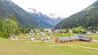 Ausblick vom Hochoben Camping in Mallnitz