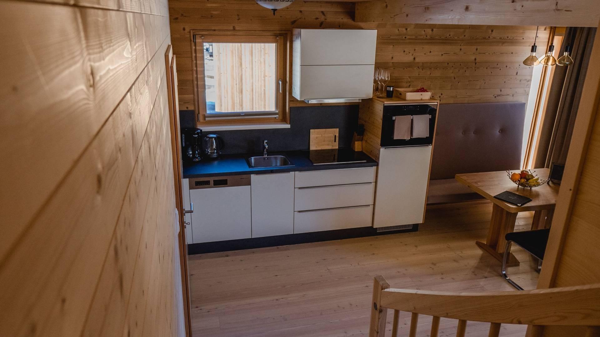 HOCHoben Camping Chalet Innen
