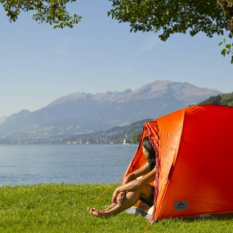 Camping am Millstaetter See