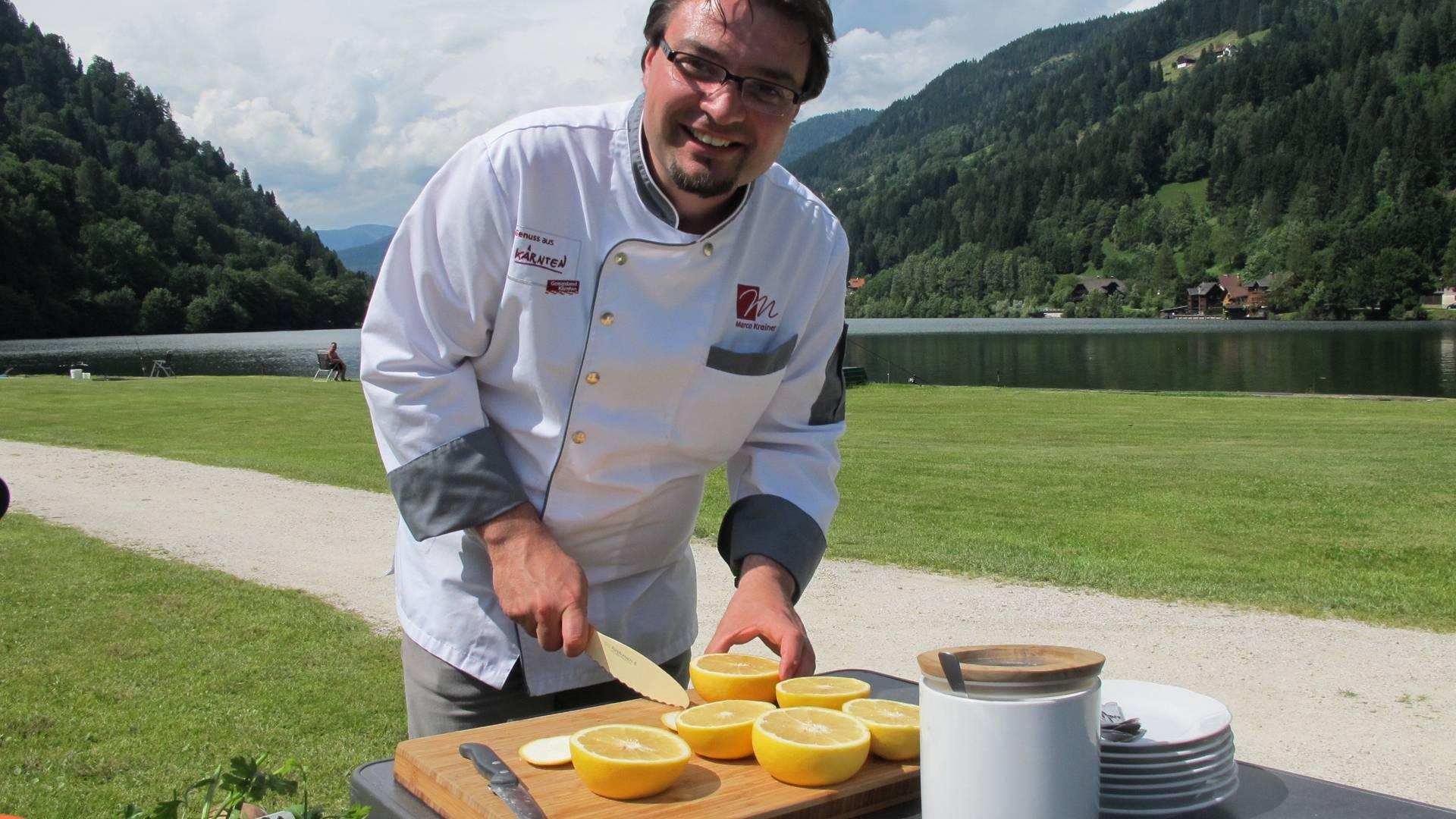 Grillen am Campingplatz mit Marco Krainer