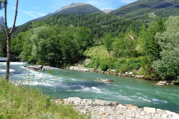 Wildwasserarena Moelltal Strecke
