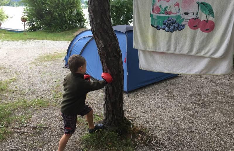 Am Campingplatz Anderwald