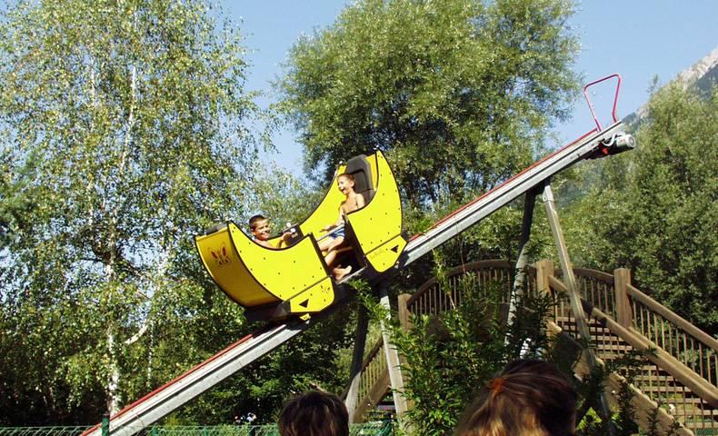 Butterfly im 1. Kärntner Erlebnispark am Pressegger See